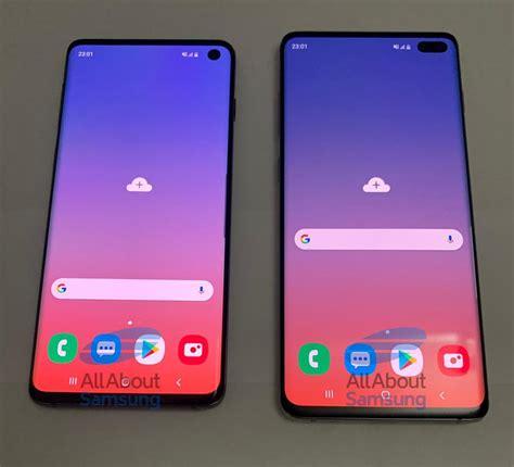 Samsung Galaxy S10 Gsmarena by Samsung Galaxy S10 Und S10 Plus Im Gr 246 223 Envergleich Hochaufl 246 Sende Bilder Geleakt