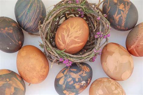 dye easter eggs  natural dye hgtv