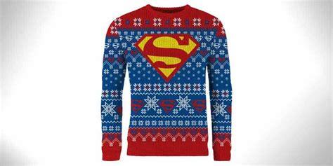 superman christmas sweater christmas decore