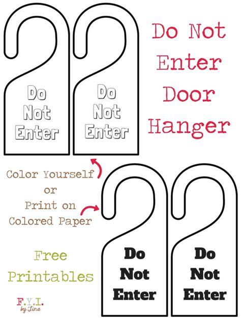 html not printable hanger free printable halloween door hangers free