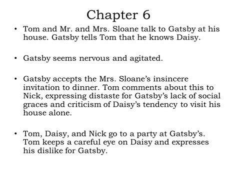 symbolism great gatsby chapter 6 gatsby invites daisy for tea quote life style by