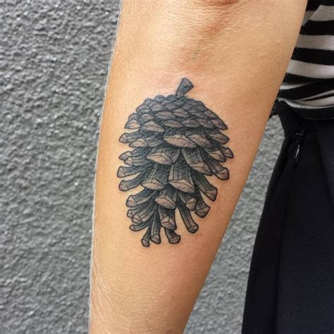 pine cone tattoo 50 pine cone tattoos design and ideas