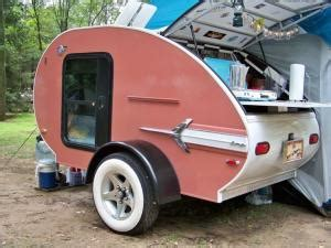 teardrop trailers hitch a tiny kitchen to your car the kitchn teardrop trailers hitch a tiny kitchen to your car the