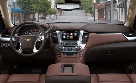 Chevrolet Tahoe Interior car and driver
