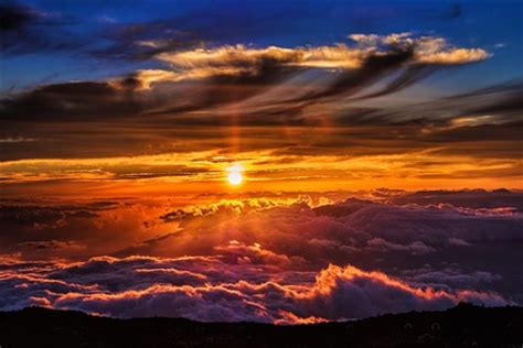 haleakala sunset : digital photography review