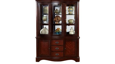china cabinet in granby merlot 2 pc china cabinet formal