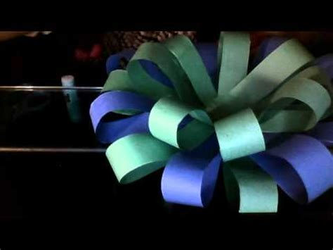 Make A Bow Out Of Paper - how to make a big bow out of paper