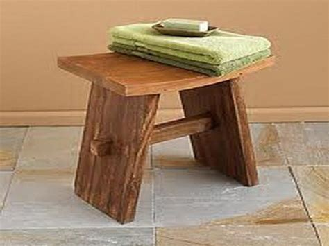 small teak bench small teak shower bench treenovation