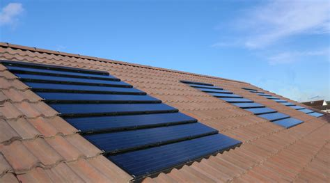 solar panels on roof solar panels on tile roof solar roofing pinterest