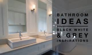 bathroom ideas black white grey colour palette