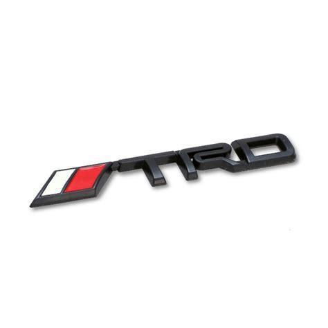 Klikoto Logo 4wd Emblem 2 Pcs jual klikoto logo trd emblem black 2 pcs