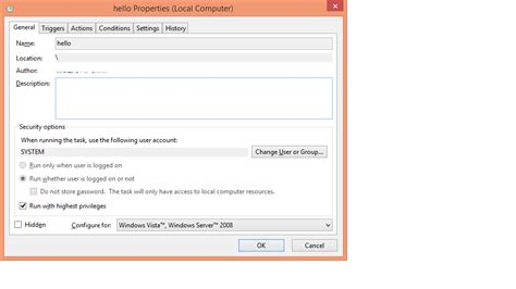 windows 7 task scheduler doesn t list my custom task s super user task scheduler doesn t work consistently