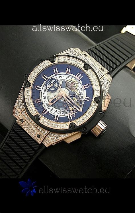 Hublot Big King Power Swiss hublot big king power skeleton swiss diamonds