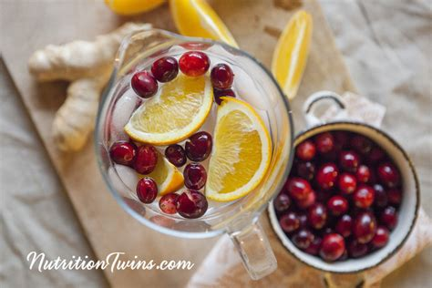 Cranberry And Orange Juice Detox Drink by Quot Detox Quot Drinks Water Infusions Archives Nutrition