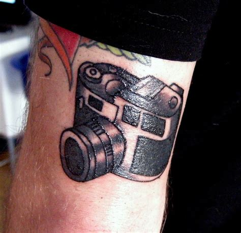 27 encouraging camera tattoo designs creativefan