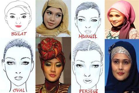 tutorial hijab pesta wajah oval tips memilih model jilbab sesuai bentuk wajah ethica