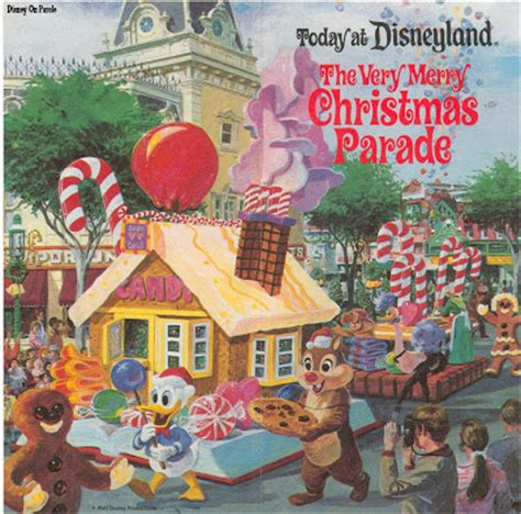 vintage disneyland tickets the very merry christmas