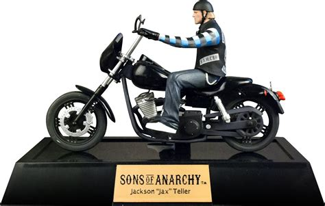 Sons Of Anarchy Motorrad by Sons Of Anarchy Statue Jackson Jax Teller With Motorcycle