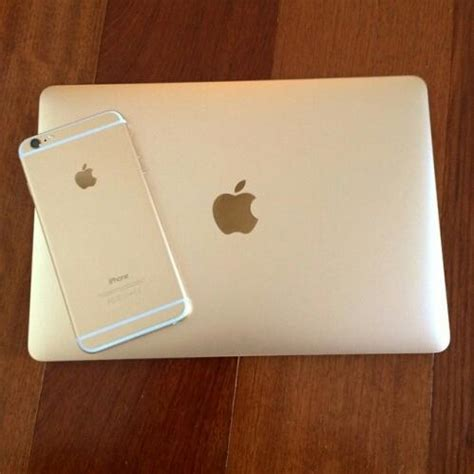 Laptop Apple Iphone apple gold iphone laptop modern image 4090094 by