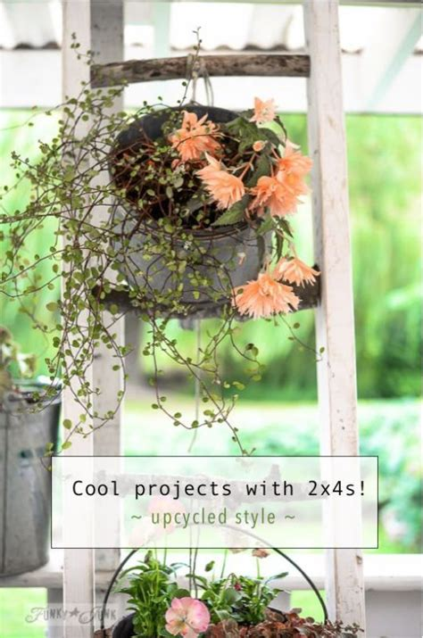 Funky Garden Decor 208 Best Images About Decor Ladders On Pinterest Funky Junk Front Entry And Vintage Ladder
