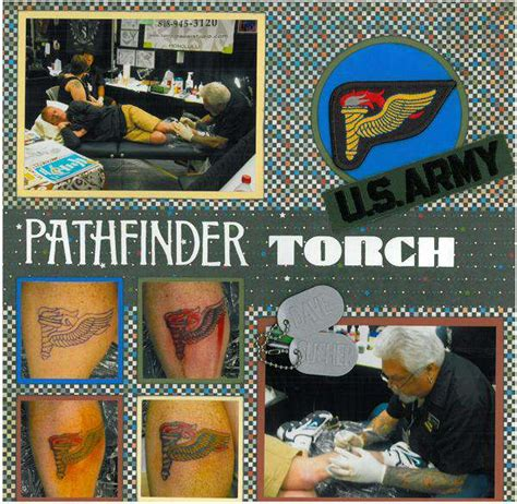 pathfinder tattoo pathfinder torch