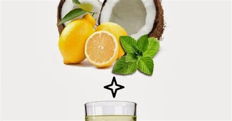 Coconut Lemon Detox by Skin Care And Health Tips Fit Coconut Lemon