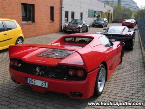Ferrari Kassel by Ferrari F50 Spotted In Kassel Germany On 04 16 2005
