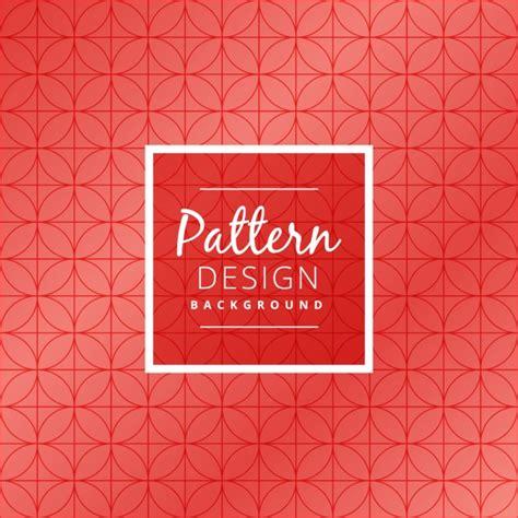 circular pattern ai red circular pattern background vector free download