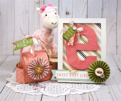 Bye Bye Baby Gift Card - quot rock a bye baby girl quot gift set echo park paper