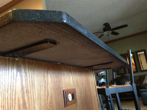 countertop overhang support supports granite america