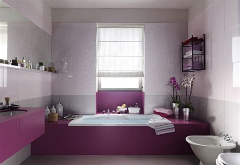 purple and white bathroom purple white feminine bathroom design interior design ideas