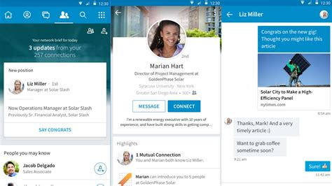 linked in mobile linkedin s launches new mobile app that s actually