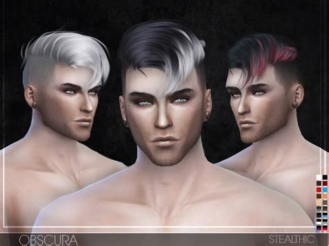 sims 4 male hairstyles stealthic sims 4 nexus