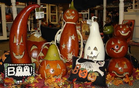 meadowbrooke gourds hand crafted holiday gourds