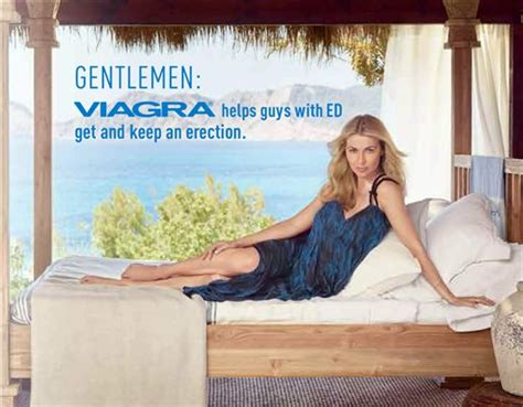 blonde model in viagra commercial viagra ads target women for first time