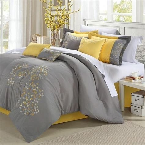 queen size 8 piece comforter set floral tree of life