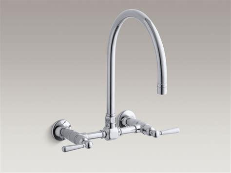 kohler wall mount kitchen faucet kohler wall mount faucet kitchen