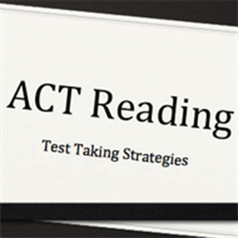 act reading section tips passage strategies for the act reading test tutorial