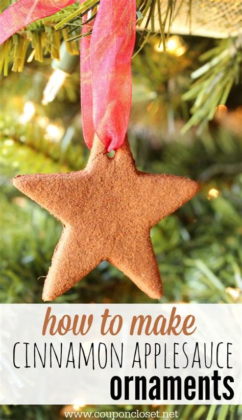 how to make cinnamon ornaments trees beautiful and