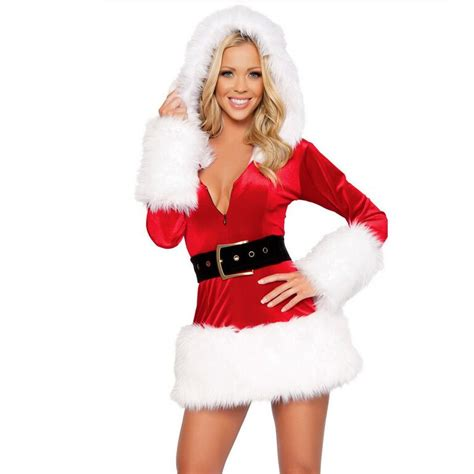 popular white santa costume buy cheap white santa costume