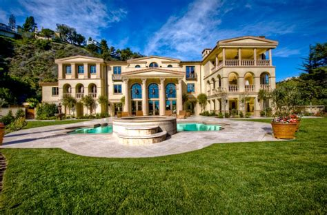 palatial bel air estate homes of the rich beverly
