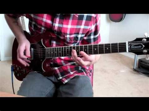 thrice nov 2 thrice stare at the sun guitar cover youtube