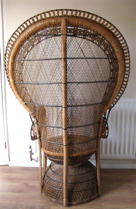 Peacock Chair For Sale by Antiques Atlas Retro Peacock Chair