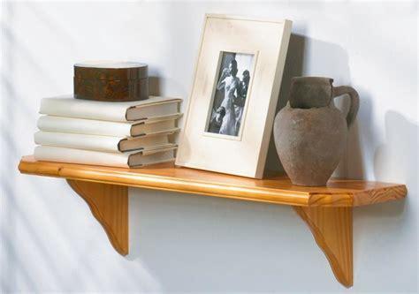 Wood Shelf Kits Unfinished by Solid Wood Shelf Kit W Curved Brackets Oak