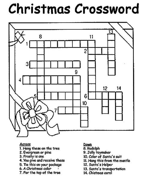easy crossword puzzles canada the 25 best christmas crossword ideas on pinterest