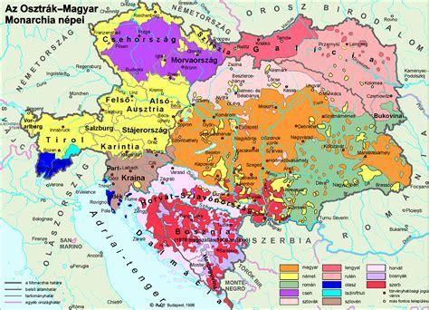austria hungary map 1900 whkmla historical atlas croatia page