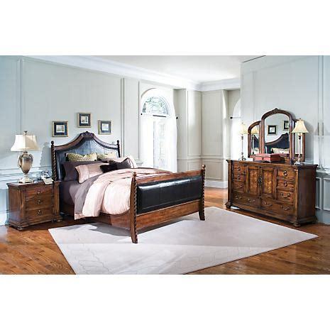 alisdair queen sleigh bed 5 pc bedroom package euro manor 5 pc king sleigh bedroom package