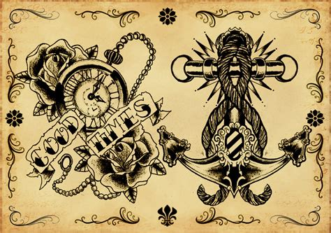 tattoo flash background tattoo flash 3 by xfreakcorex on deviantart