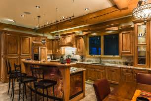 Homekitchen by Log Home Kitchen The Home Touches
