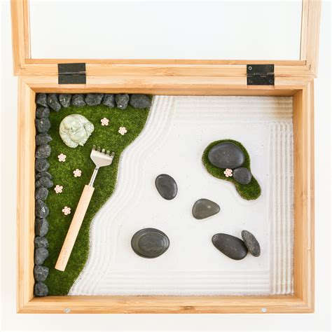 zen garten miniatur mini zen garden thirsty for tea